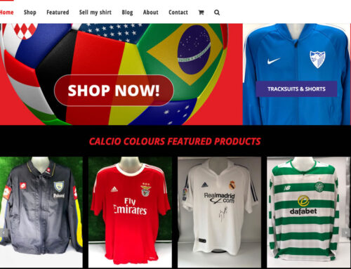 Calcio Colours Vintage Football Shirts