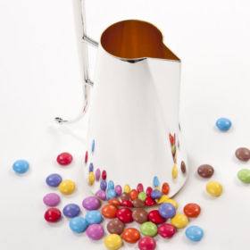 Silver coffee pot by Brett Payne