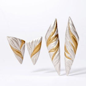 Earrings by Cathy Sutherland