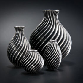 Silver Vases by Ryan McLean